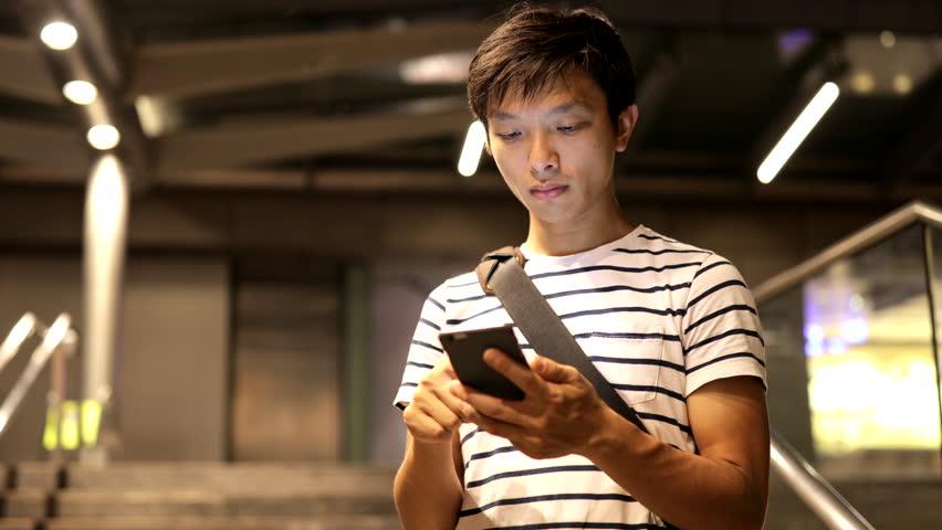 Man use smart phone  | Shutterstock HD Video #30654037