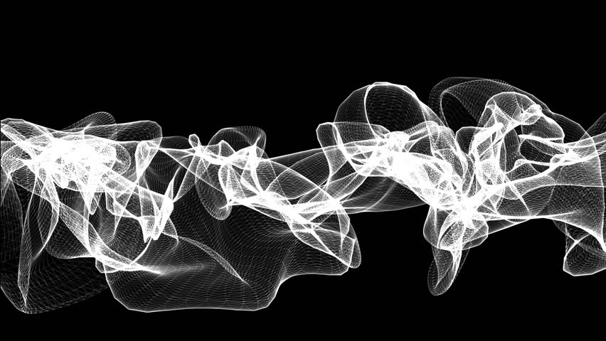 A black and white lines that morphs and deform   Shutterstock HD Video #3067657