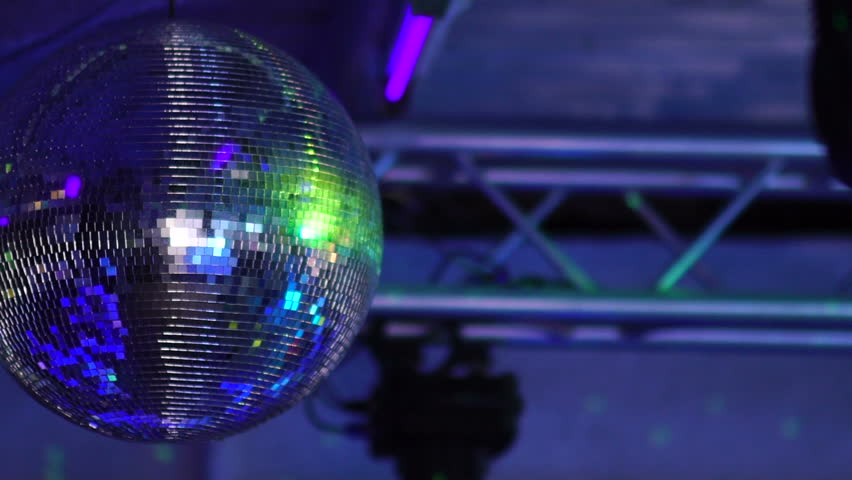 Isolated disco ball on the black background | Shutterstock HD Video #30700381