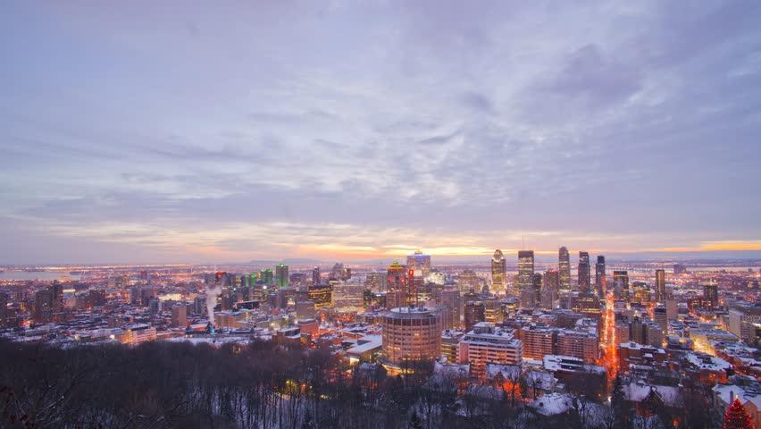 Montreal sunrise | Shutterstock HD Video #30894547