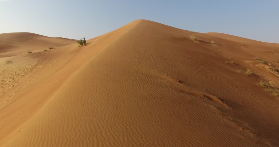 Aerial View . Desert reveal shot from low angle to high  | Shutterstock HD Video #30955207