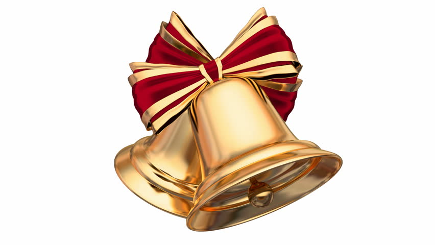 Christmas Bells Images.Golden Christmas Bells With Red Stock Footage Video 100 Royalty Free 30955747 Shutterstock