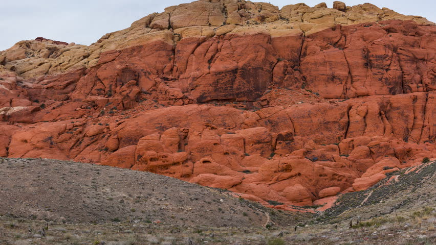 Red Rock Canyon National Conservation Area, Las Vegas, Nevada, Usa, America | Shutterstock HD Video #30964711