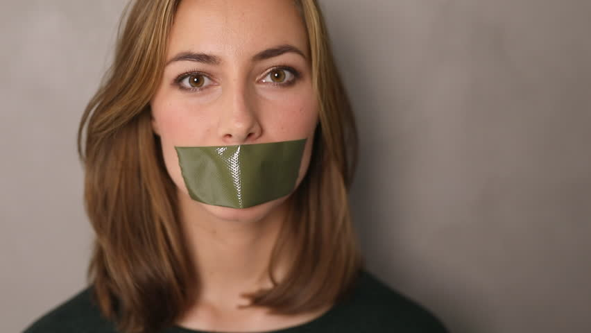 Image result for tape over mouth