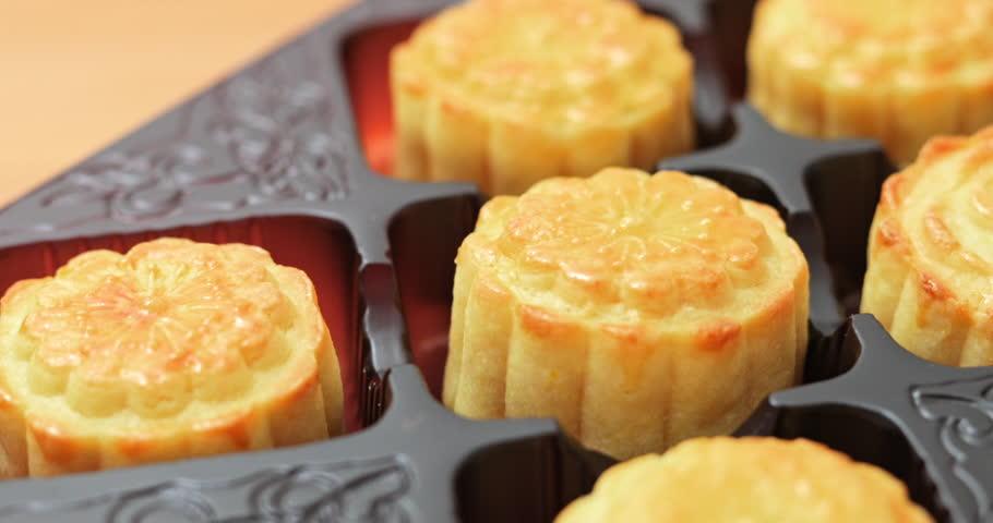 Chinese mid autumn moon cake