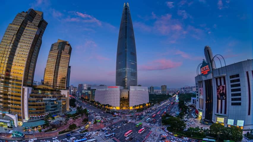 Seoul South Korea September Stock Footage Video 100 Royalty Free 31033057 Shutterstock