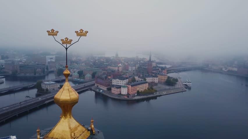 Stockholm drone 4K