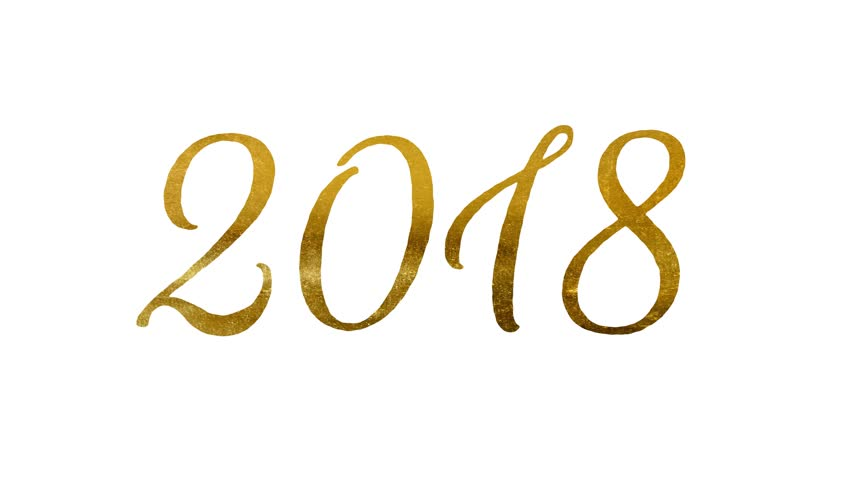 animated with stripes new year 2018 number with effects golden ratio vector free golden ratio vector ai