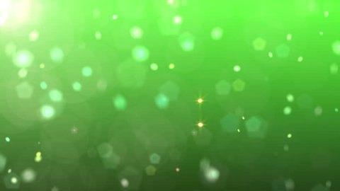 Green particle