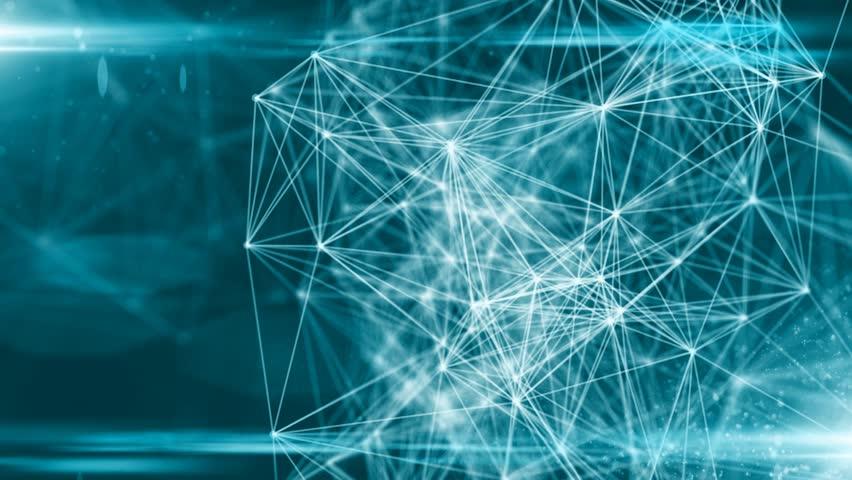 AI Artificial intelligence digital robotic brain deep learning computer 3D rendering