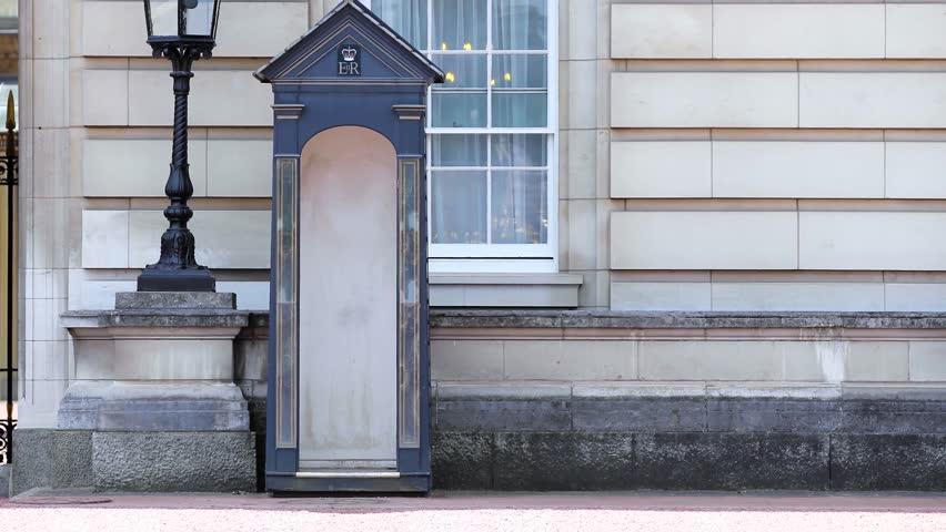WINDSOR, ENGLAND, NOVEMBER 15, 2012: Guardsman of the Windsor Castle, England, November 15, 2012
