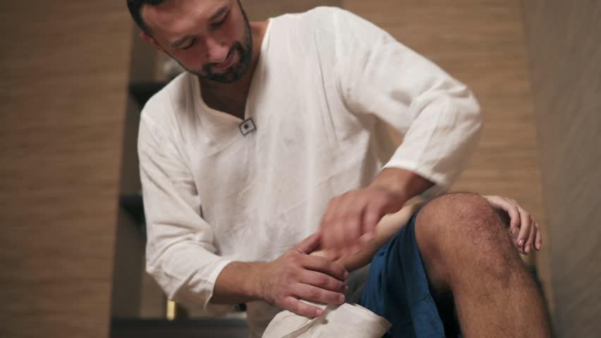 Thai male massage video