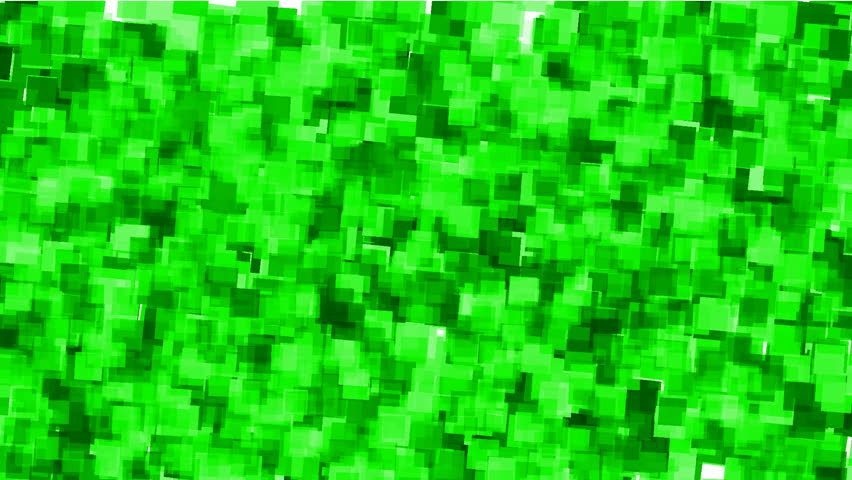 Green watercolor square mosaic papers and debris background.   Shutterstock HD Video #3142207