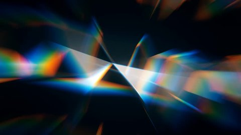 rainbow diamond abstract light background