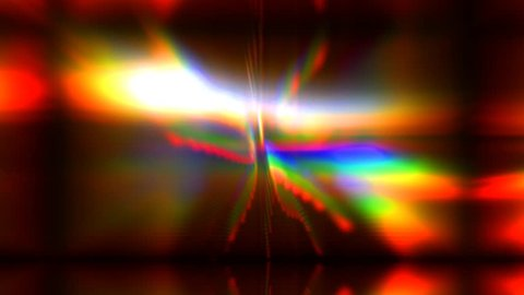 blurred rainbow lights abstract background