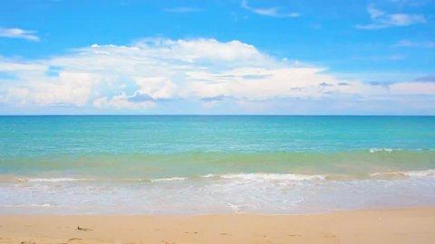 Ocean seascape scenic off kamala beach, phuket, thailand