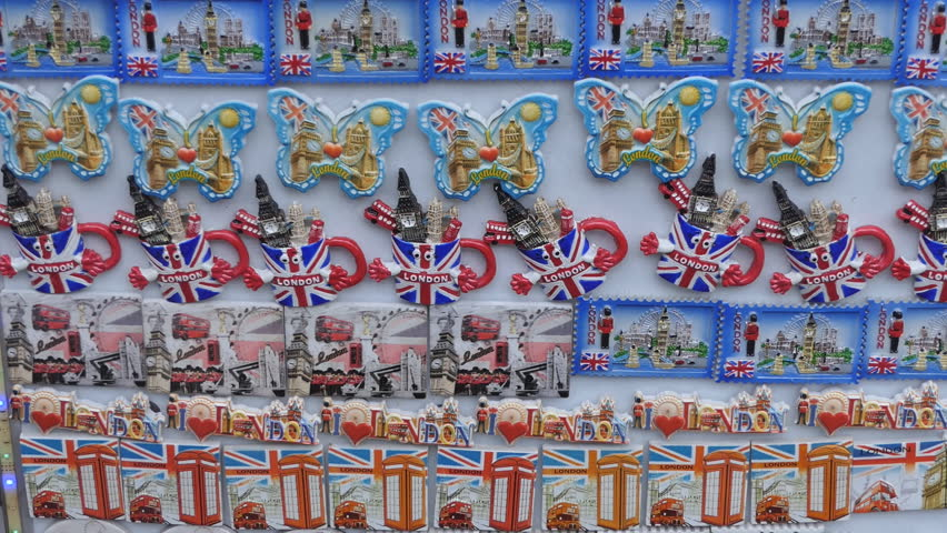Souvenirs from London. Fridge magnets.