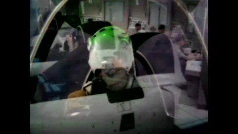 CIRCA 1970 - Student pilots train in flight simulators at Naval Air Station Pensacola in Florida.