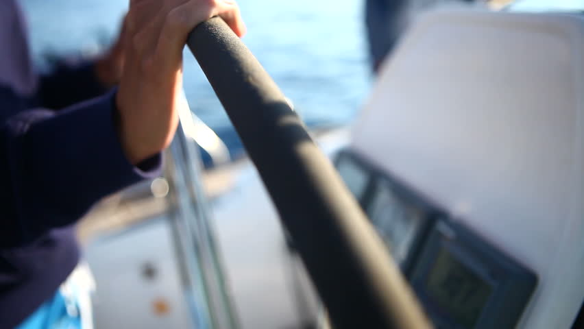 steering the boat