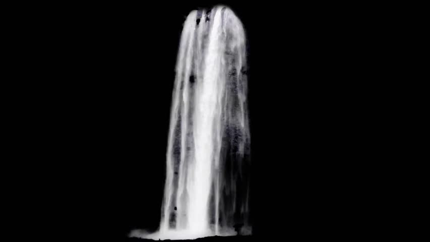 Real water fall for VFX | Shutterstock HD Video #31835677