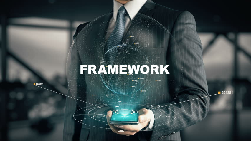 Businessman with Framework | Shutterstock HD Video #31895107