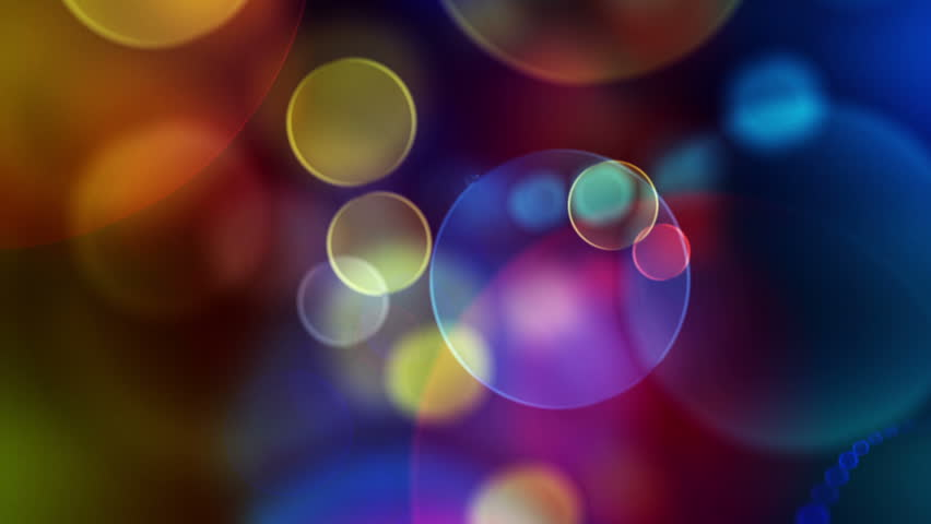 Colorful Circles Video Background Loop  /// ...