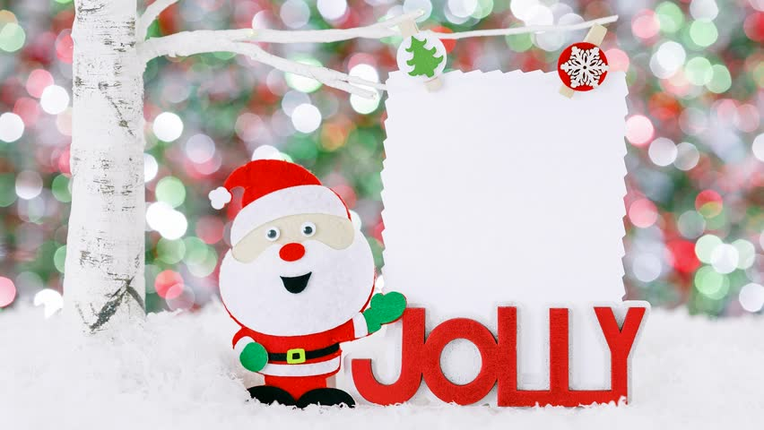 Christmas greeting video card ho ho ho santa creative funny and christmas greeting video card ho ho ho snowman creative funny and cute m4hsunfo Images
