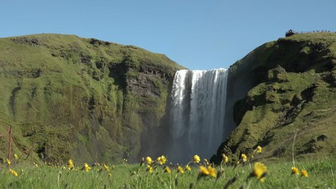 Waterfall in Iceland 4