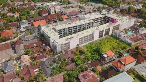Aerial views of Seminyak, Bali