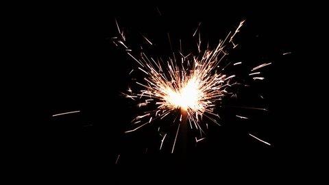 Sparkler Sparks Background 2k 2048x1152 New Year