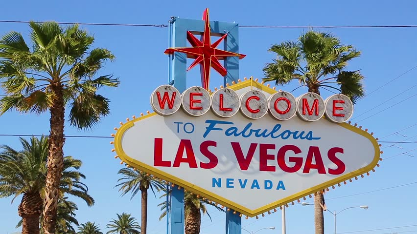 Welcome to Fabulous Las Vegas sign | Shutterstock HD Video #32107627