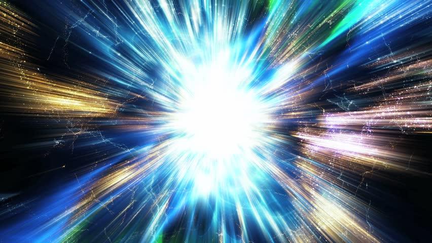 HD - Traveling inside a wormhole in deep space (Loop).