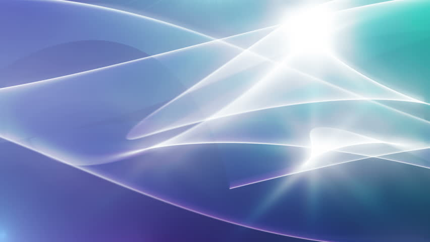 Oka - Abstract Lights Video Background Loop /// Wavily bright structures moving fast over a background tinted blue and green. A great video background for every purpose.
