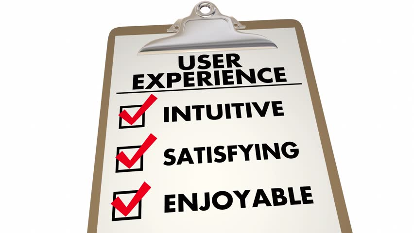User Experience Checklist Intuitive Satisfying Enjoyable 3d Animation