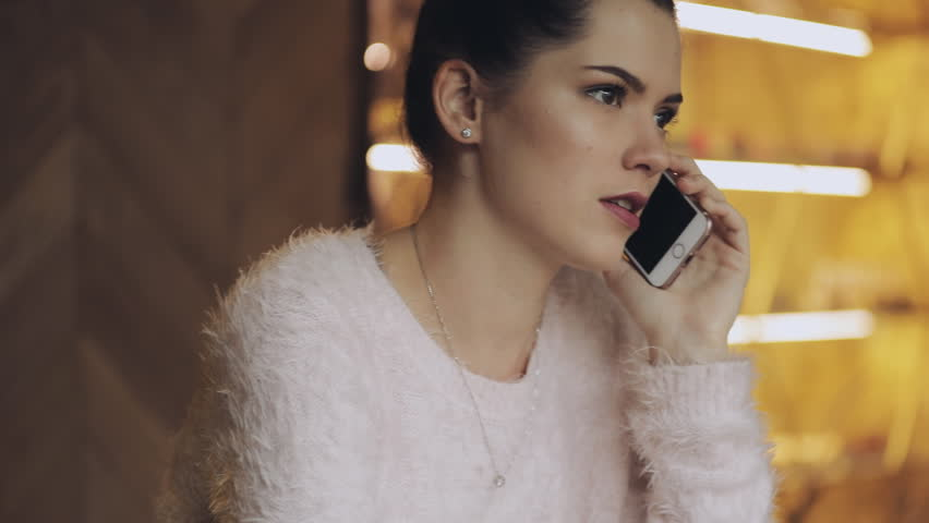 This girl is always speaking by phone | Shutterstock HD Video #32175907
