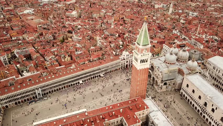Drone video - Aerial view of Venice Italy | Shutterstock HD Video #32181757