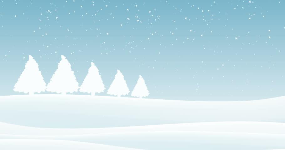 Winter Background Loop