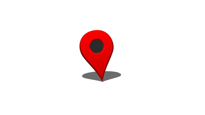 Map Pointer Icon Pin Icon Location Sign Mark Icon