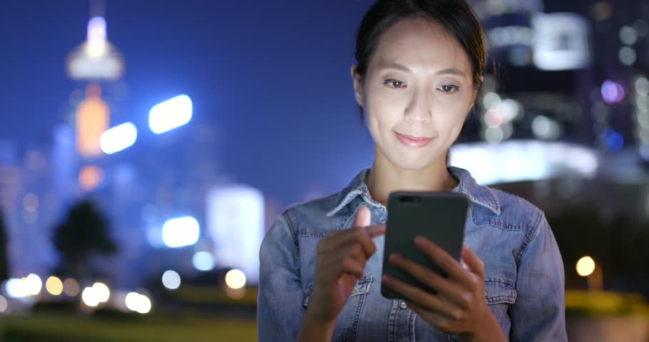 Woman use of mobile phone | Shutterstock HD Video #32231677