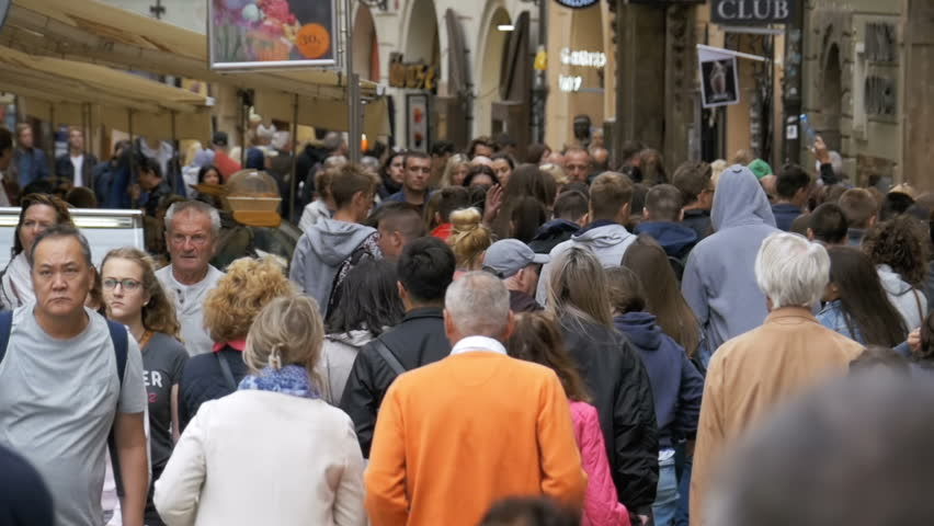 Jerusalem israel may 25 2017 people are waiting in a line to czech republic prague september 12 2017 crowd of people walking along the sciox Image collections