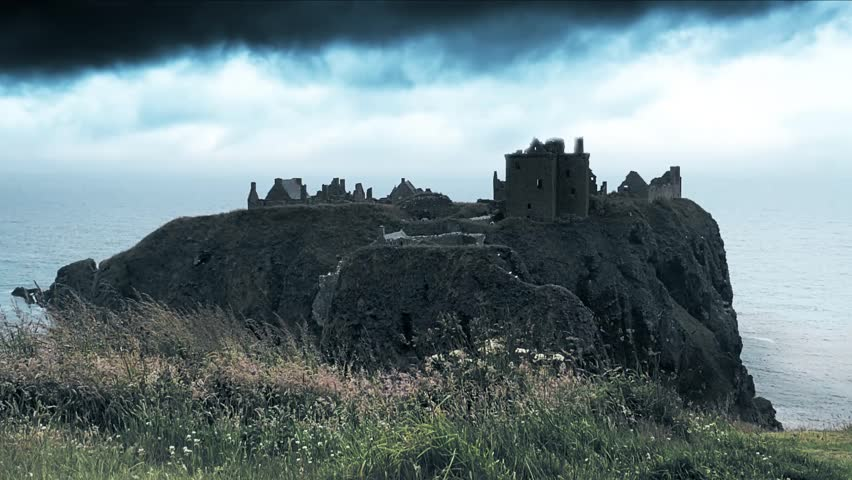 Time Lapse And Slow Motion Mix - Ancient Dunnottar Castle, Scotland