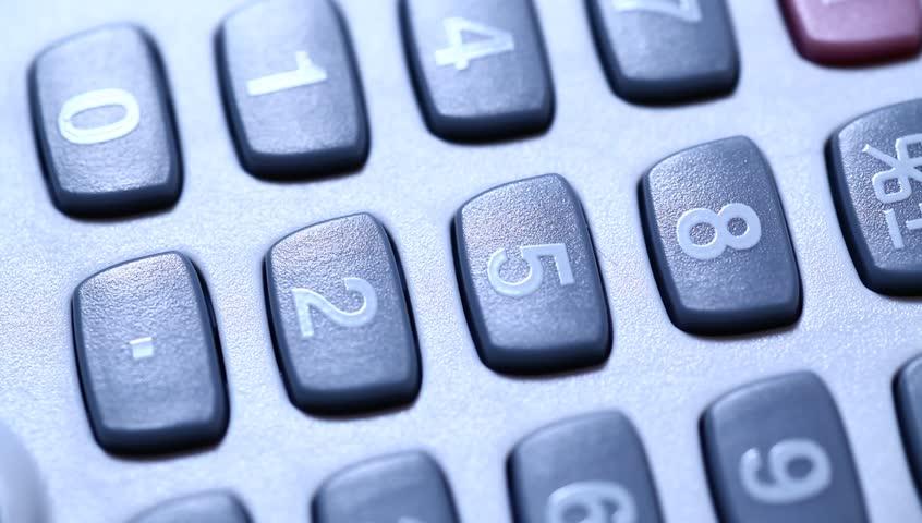 Calculator   Shutterstock HD Video #3270287