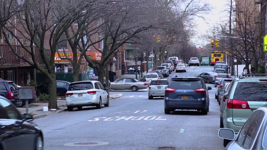 New York city streets.  Cars and roads, | Shutterstock HD Video #32843104