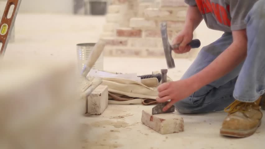 Splitting a brick