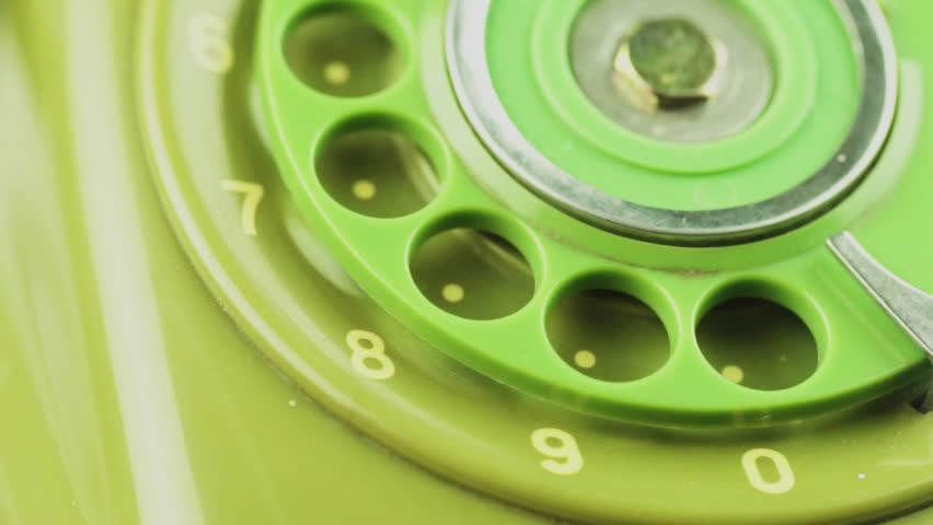 Close-up view on old telephone dial | Shutterstock HD Video #33065986