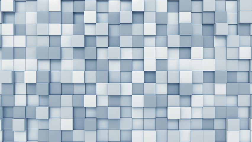 Moving light blue squares motion background, seamless loop | Shutterstock HD Video #33077536