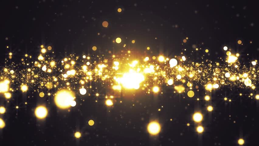 Lights gold bokeh background.  #33104557