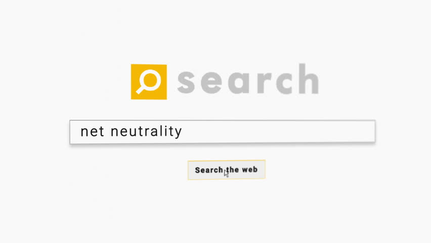Net neutrality, search page leads to blocked site, version with depth of field and pixelated LCD screen | Shutterstock HD Video #33161227
