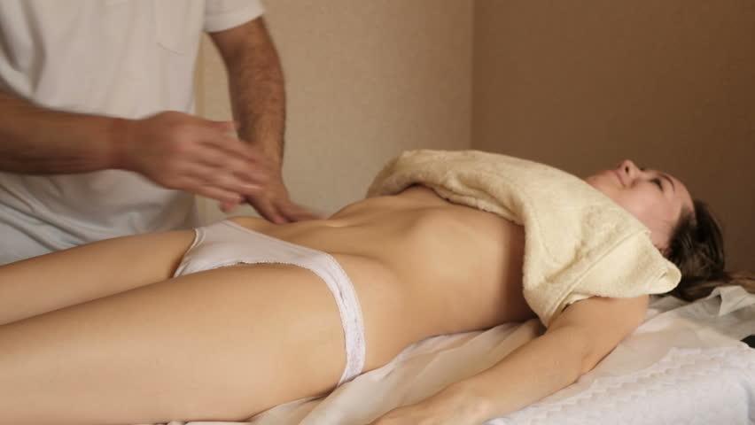 Испытала оргазм во время массажа видео