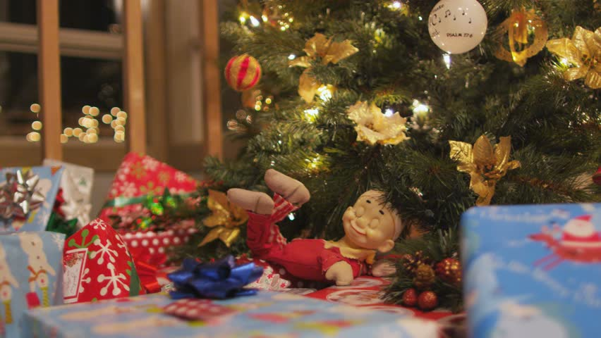 Christmas presents and tree | Shutterstock HD Video #33217837